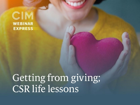 CSR life lessons