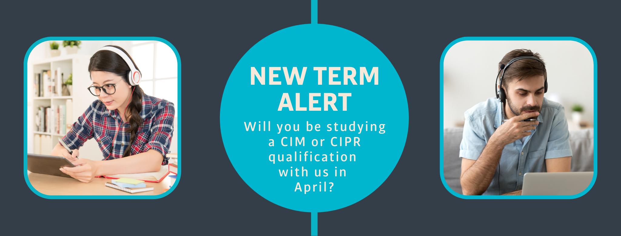 New Term Starts in April